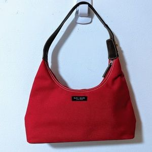 Kate Spade Red Handle Purse